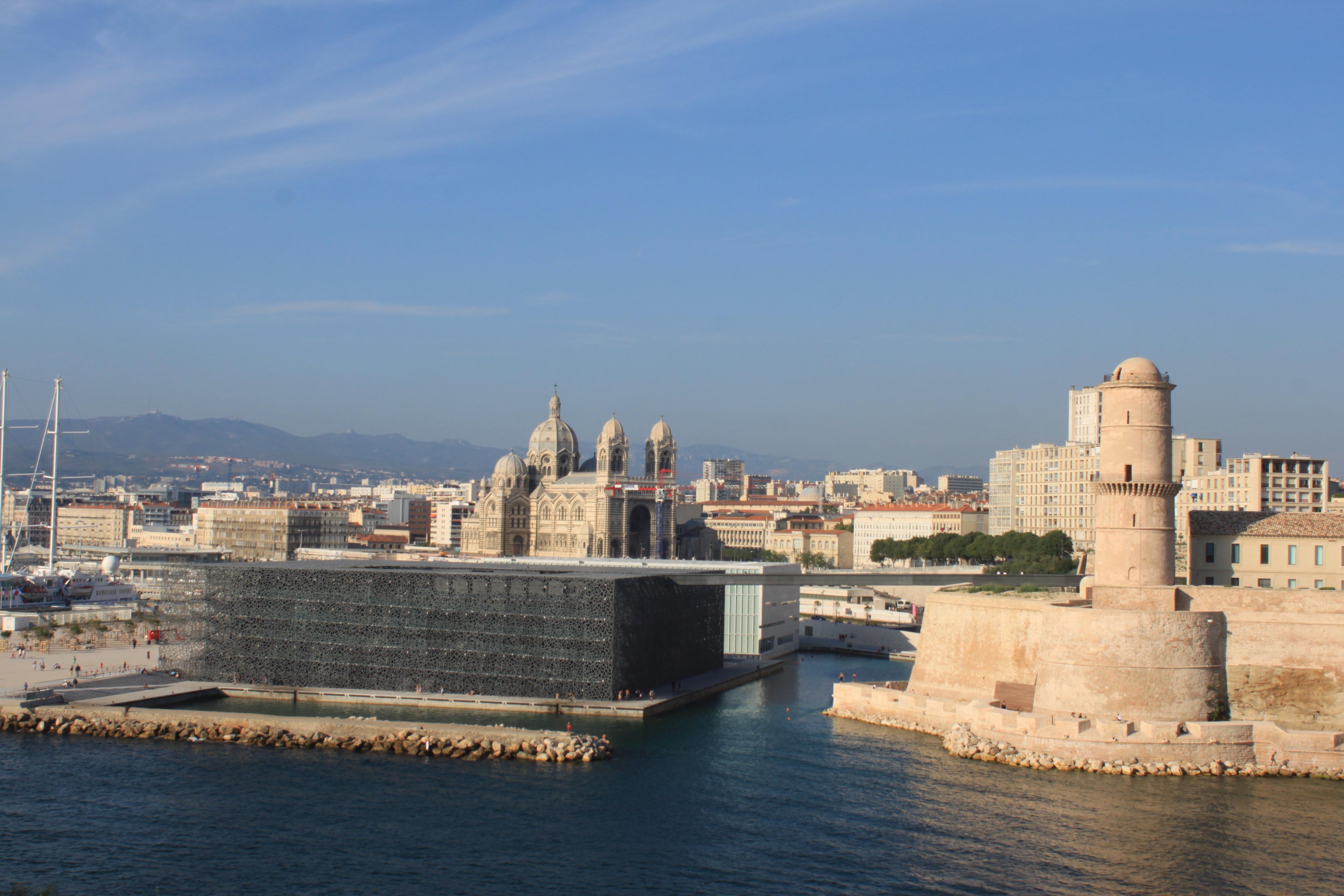 Mucem dentelle b ton rep rages conseil design - Parking vieux port fort saint jean marseille ...