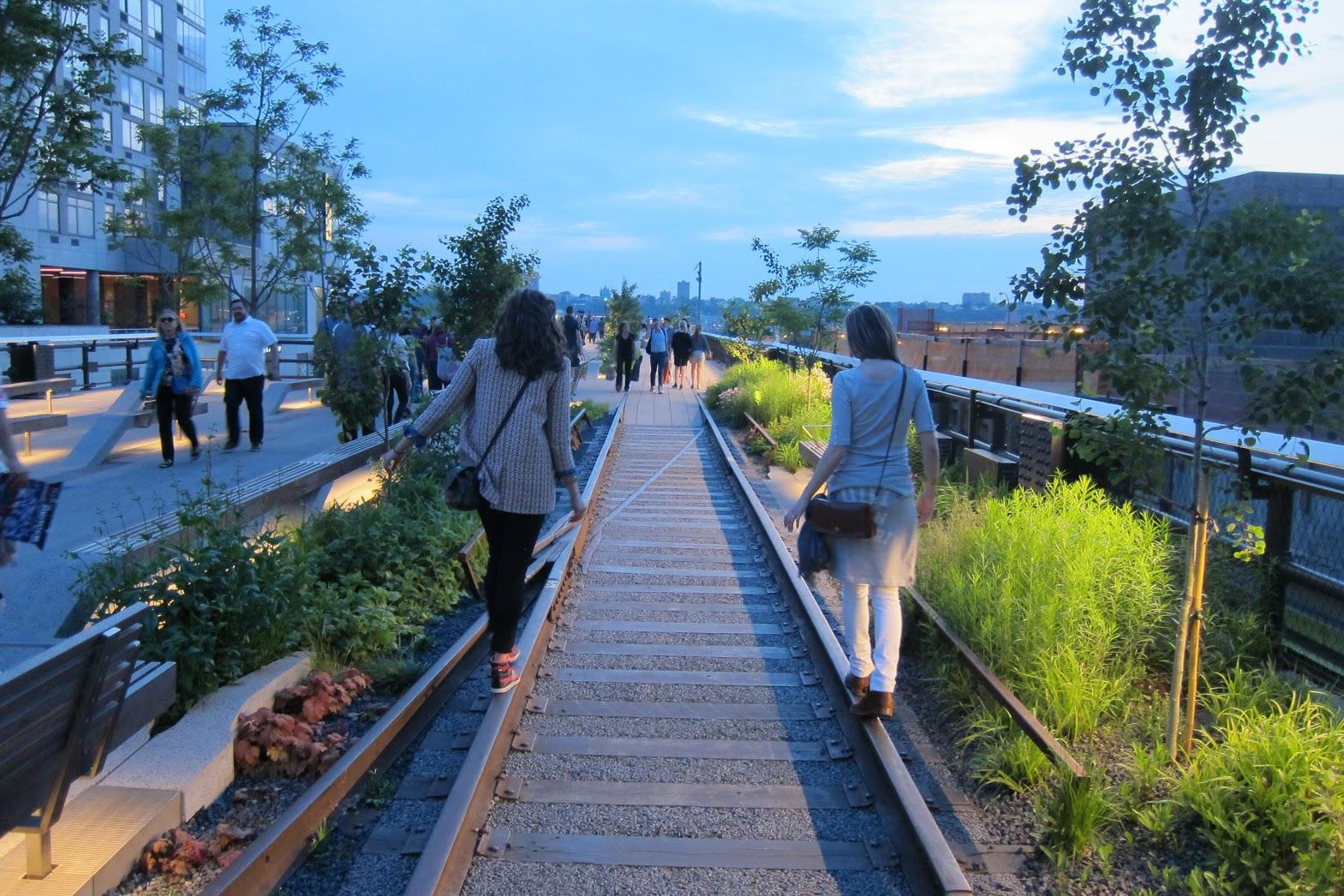 High line la coul e verte de new york rep rages conseil for Mons 2015 jardin suspendu