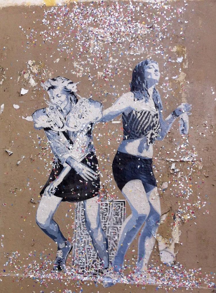 Danseuses paillettes Paris